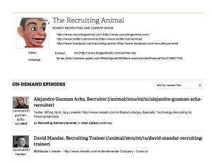 The Recruiting Animal Online Radio   BlogTalkRadio